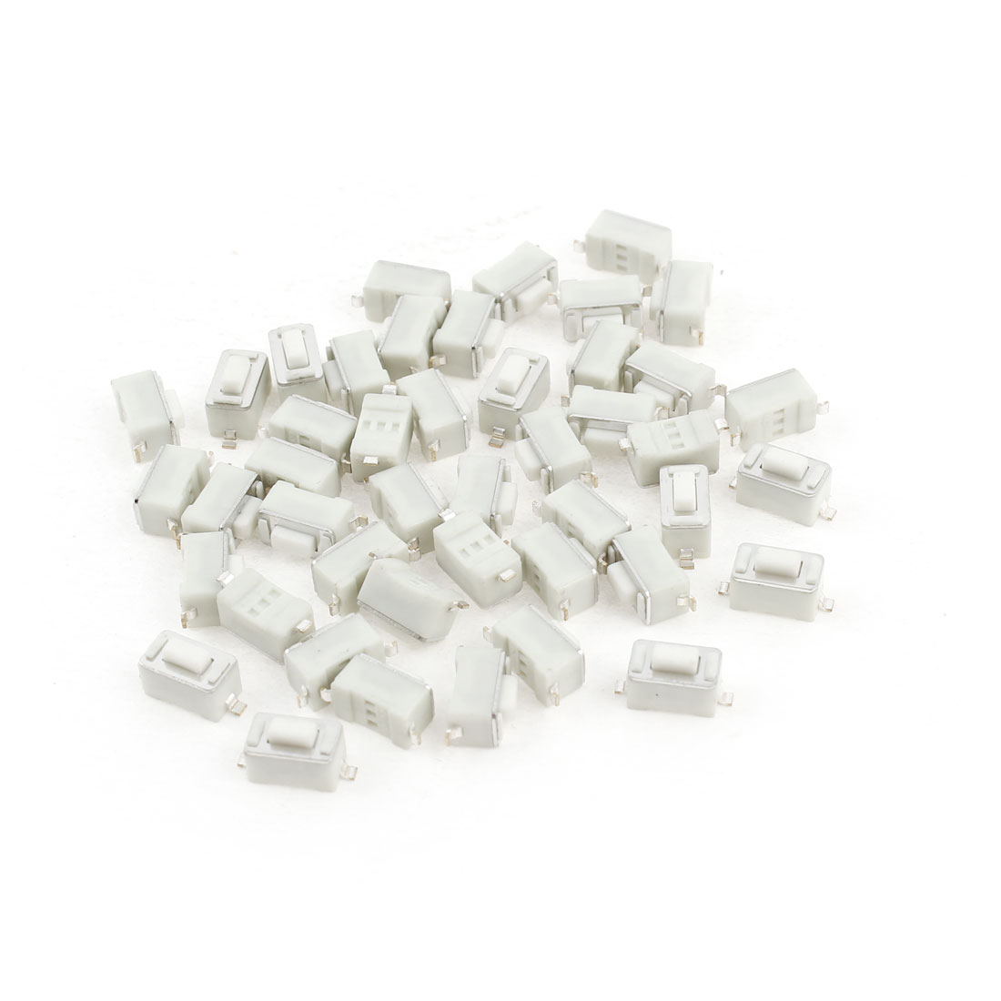 50Pcs SMD Surface Mount Push Button Switch Momentary Tact 6x3x4.3mm
