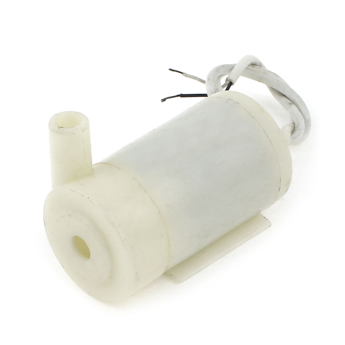 Beige Plastic Housing 7mm Outlet Dia Micro Pump Motor 400mA DC 3-12V