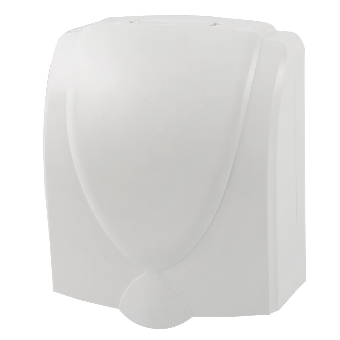 White Plastic Wall Panel Switch Socket Holder Splash Proof Box 120x99x45mm