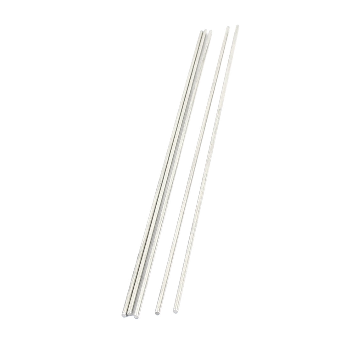 5Pcs Hardware Stainless Steel 200x2mm Transmission Round Rods