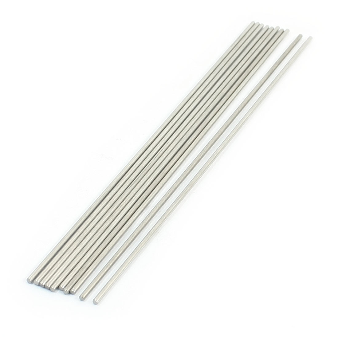 10Pcs Stainless Steel Machinery Parts Component Round Bar 180x2mm