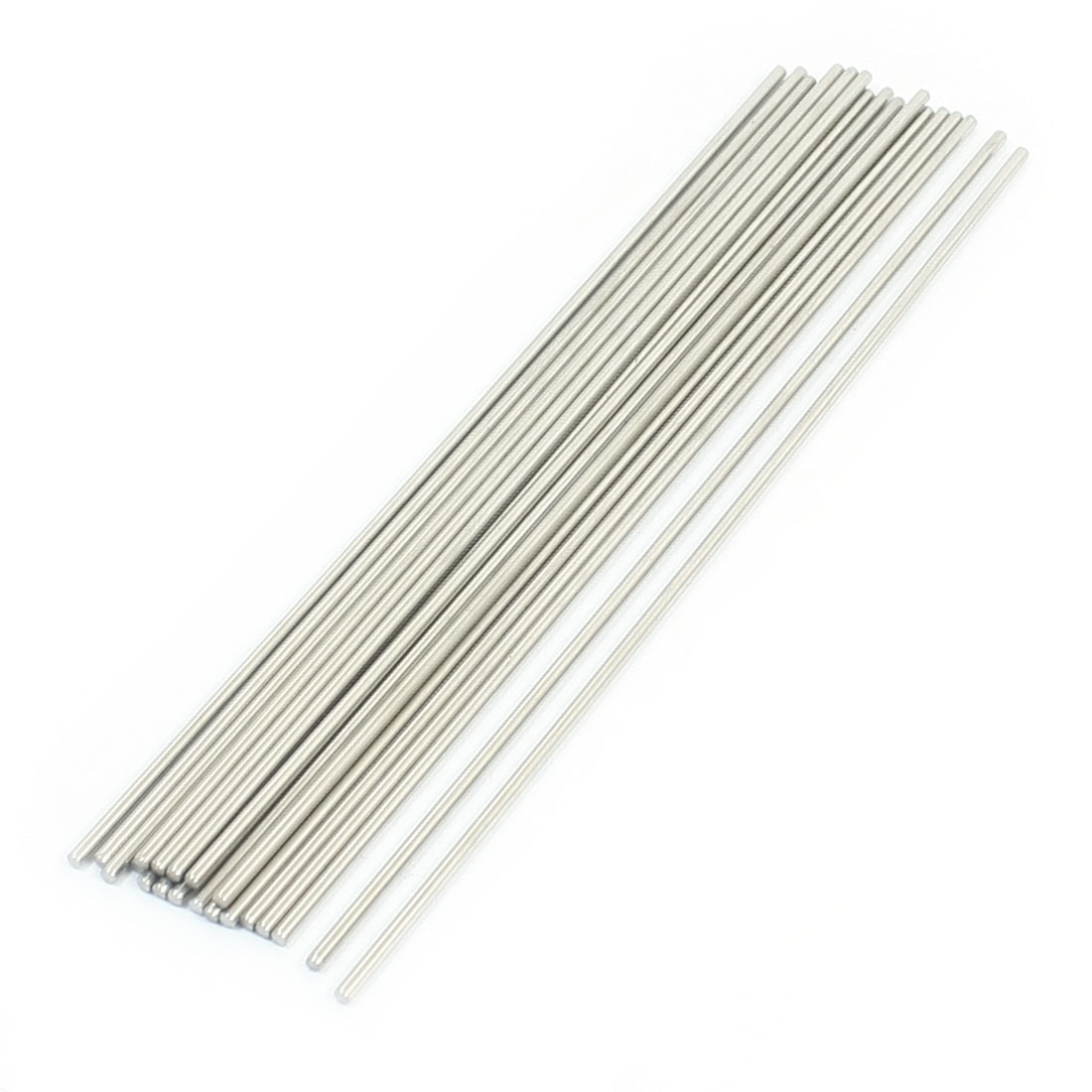 20pcs Stainless Steel Machinery Parts Component Round Bar 160x2mm