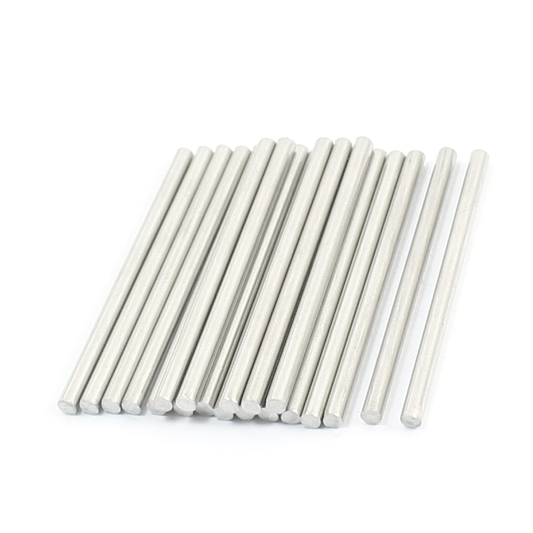 20pcs RC Model Airplane Replacement Stainless Steel Round Bars 45x2.5mm