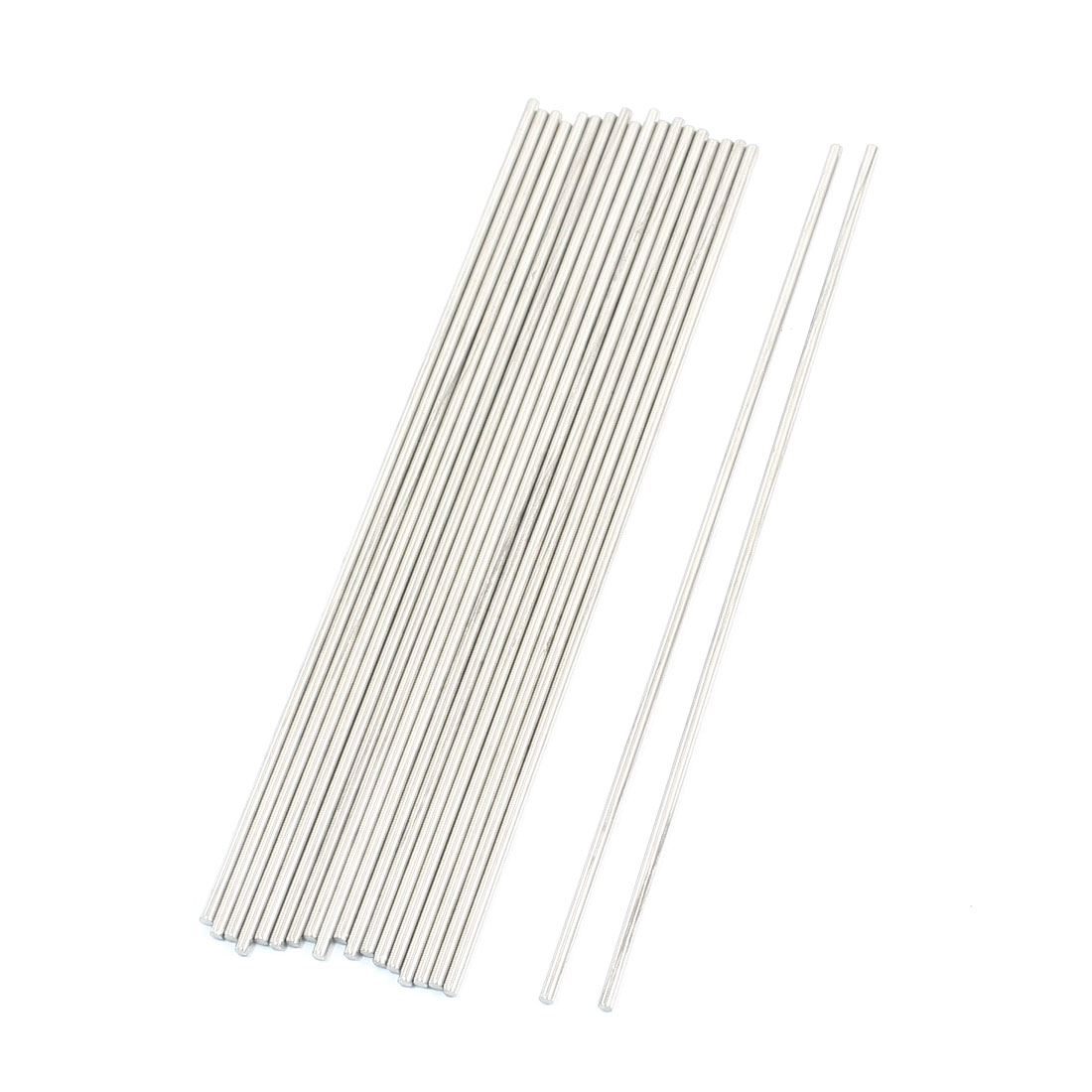 20PCS RC Helicopter Repairing Parts Round Rods 170mm x 2.5mm