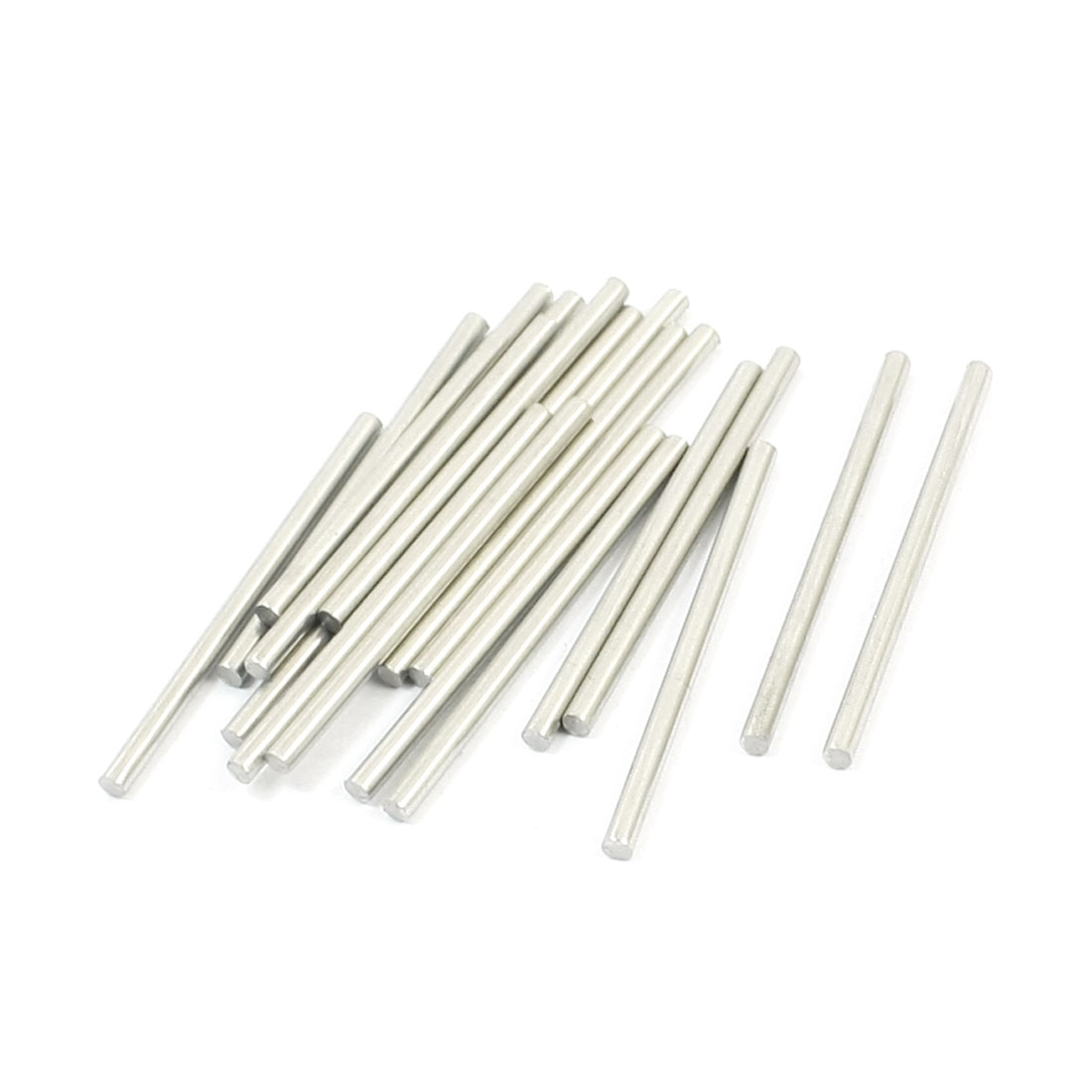 20PCS 35mm x 2mm Stainless Steel Round Rod Axle Bars for RC Car Toys
