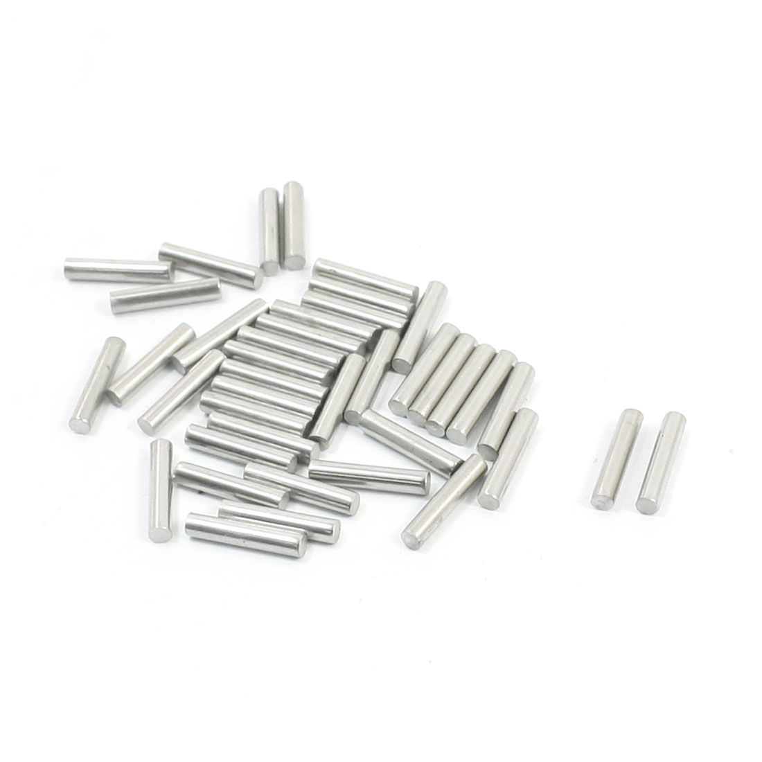 40PCS RC Car Toy Spare Part Stainless Steel Round Bar Shaft 10mmx2mm