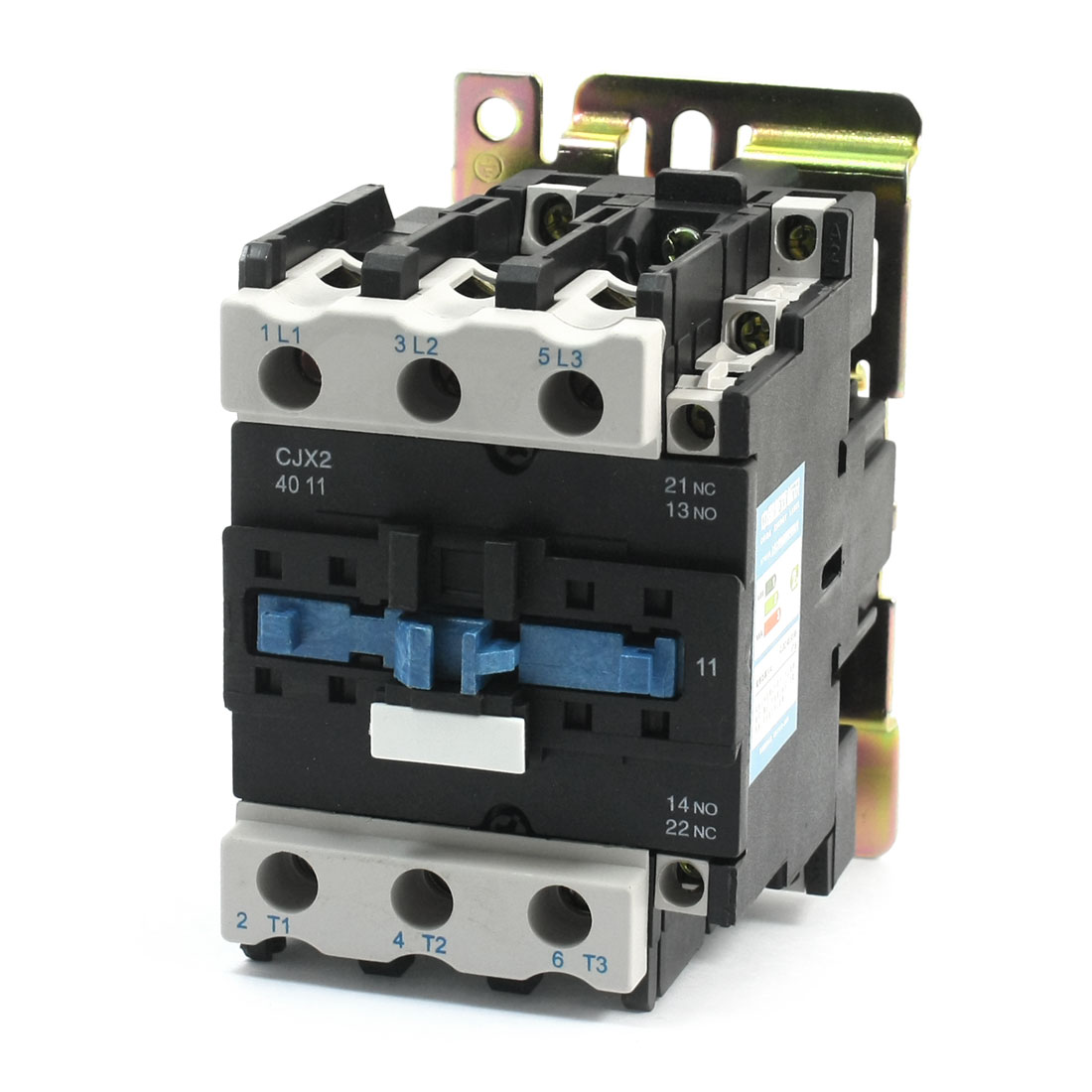 CJX2-4011 General Purpose 3 Phase 220V Coil 60A 1NO 1NC AC Contactor