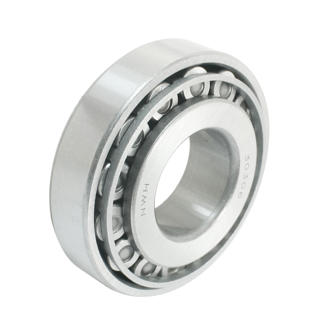 Silver Gray Single Row Tapered Roller Bearing 30306 30mm x 72mm x 20mm