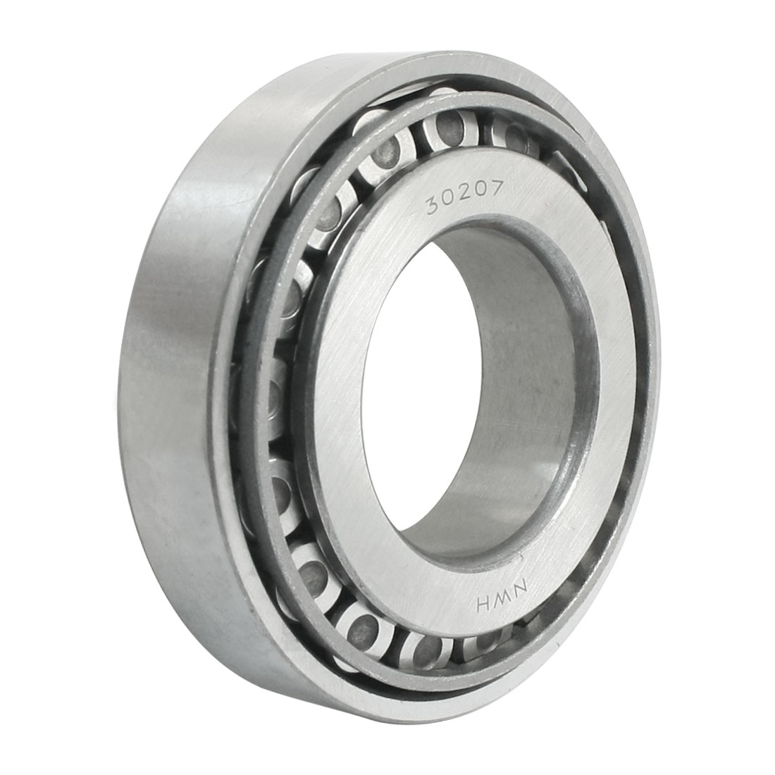 35mm Bore Dia 72mm OD 17mm Thickness Tapered Roller Bearing 30207