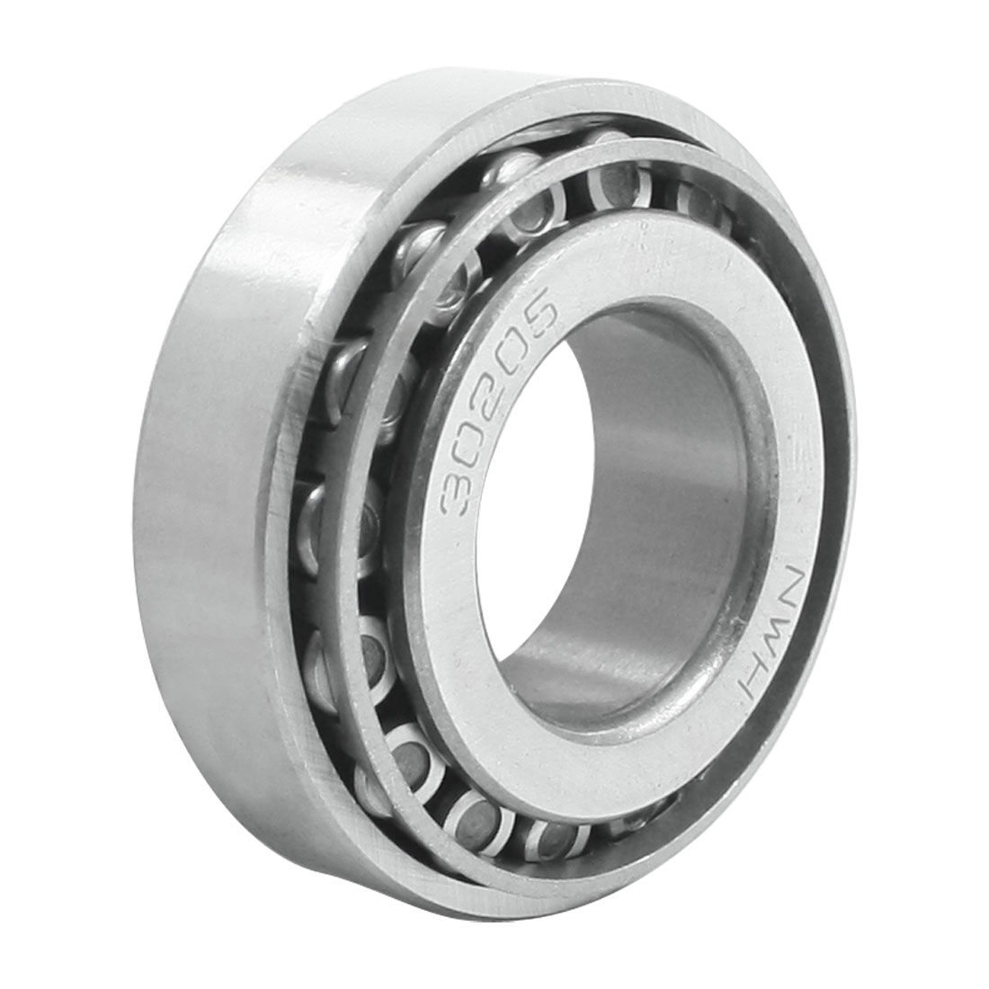 25mm Bore Dia 52mm OD 16.5mm Thickness Tapered Roller Bearing 30205