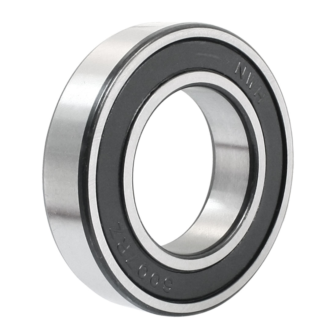 35mm x 62mm x 14mm Chrome Steel Sealed Deep Groove Ball Bearing 6007-2RS