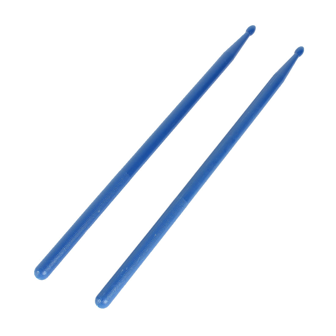 2 Pcs Blue Plastic Tip 5A Drum Sticks Music Band Drumsticks
