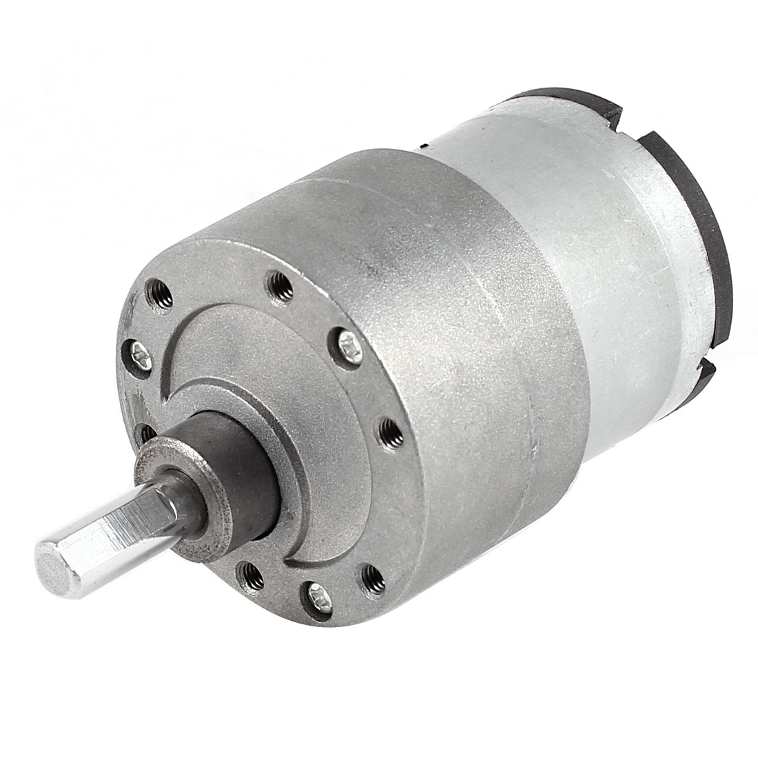 DC 12V 319RPM 6mm Diameter Shaft Electric Geared Box Speed Reduction Motor