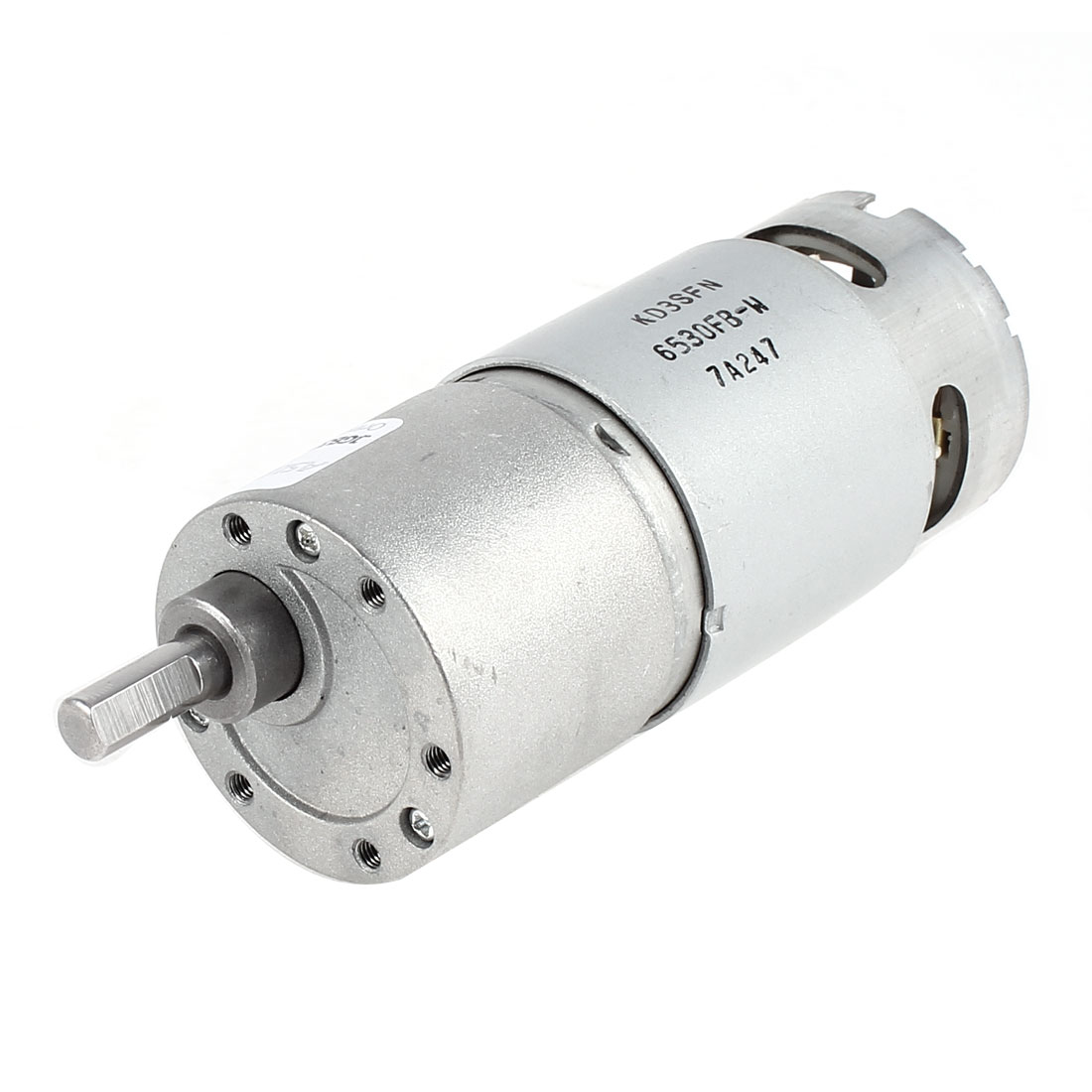 High Power DC 12V 32RPM 6mm Diameter Shaft Electric Gearbox Speed Reducing Motor