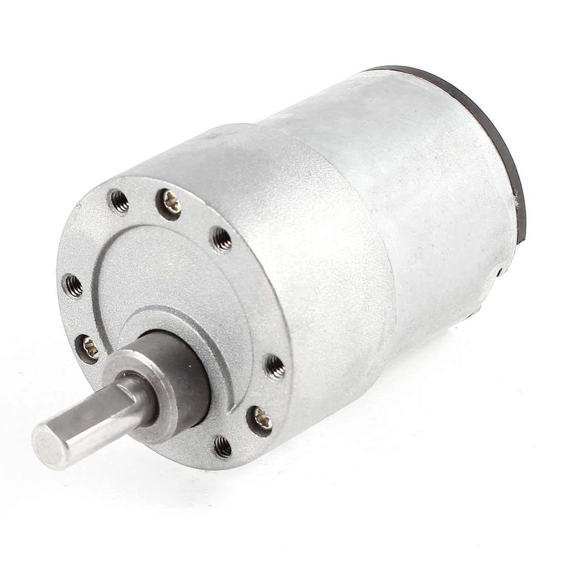 DC 12V 937RPM 6mm Dia Shaft Gear Box Speed Reduction Motor for Intelligent Robot