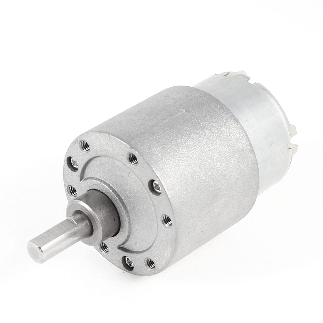 DC 12V 17RPM 6mm Dia Shaft Gear Box Speed Reduction Motor for Intelligent Robot