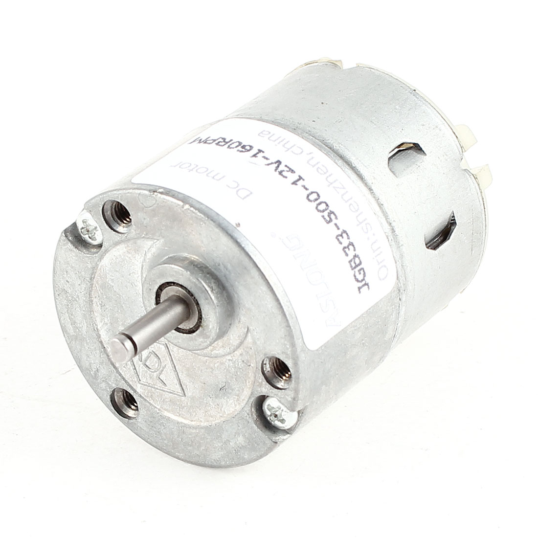 DC 12V 160RPM 3Kg.cm Torque 3mm Shaft Electric Gear Box Speed Reducer Mini Motor