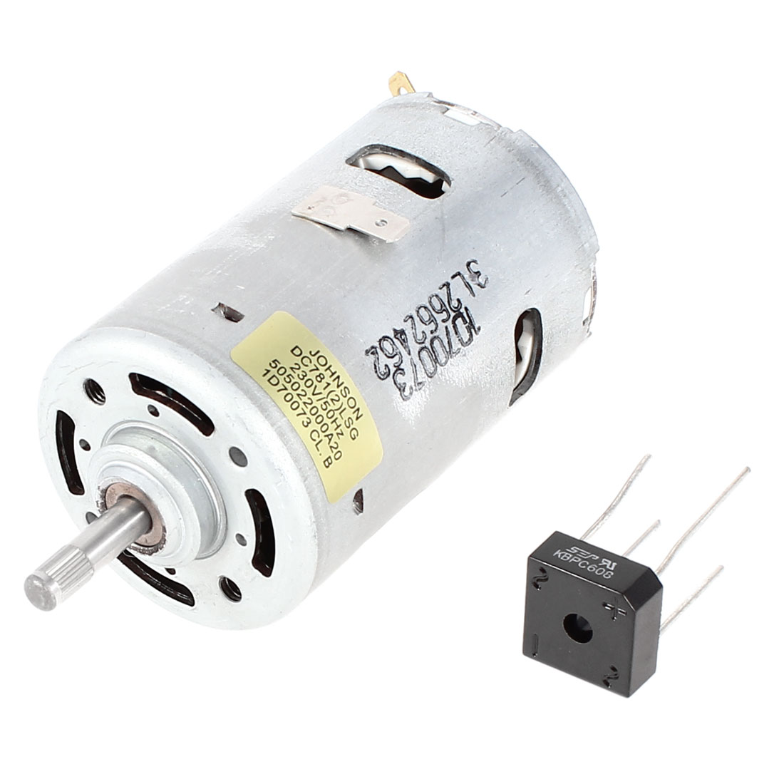 DC781 DC 220V 12700RPM Speed High Voltage Cylinder Shaped Micro Electric Motor