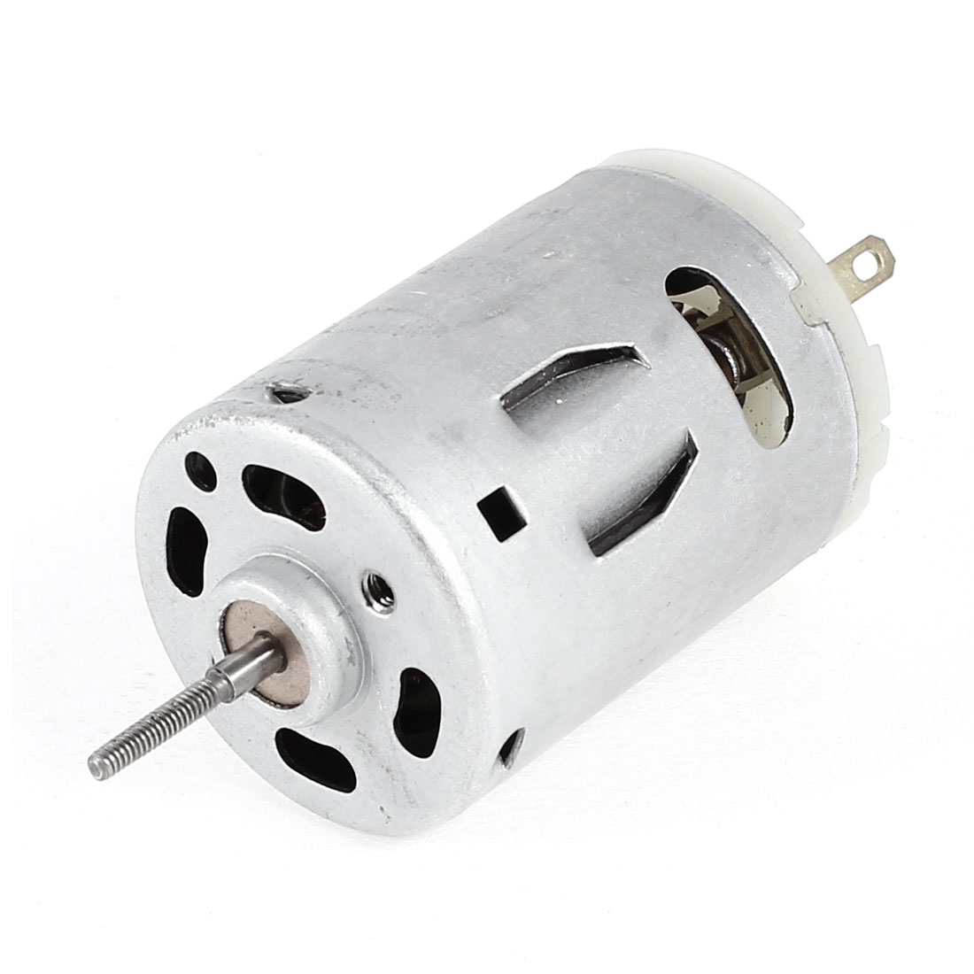 RS385SD DC 12V-24V 4650-9300RPM Rotary Speed Cylinder Shape Micro Electric Motor
