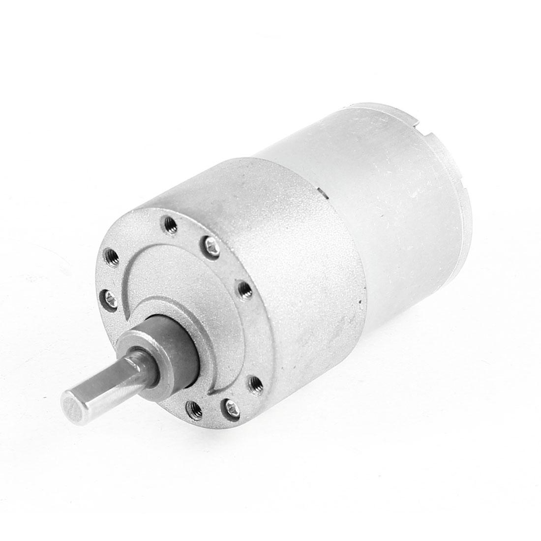 DC 24V 319RPM 5.9mm Shaft Electric Gear Box Speed Reduce Micro Motor