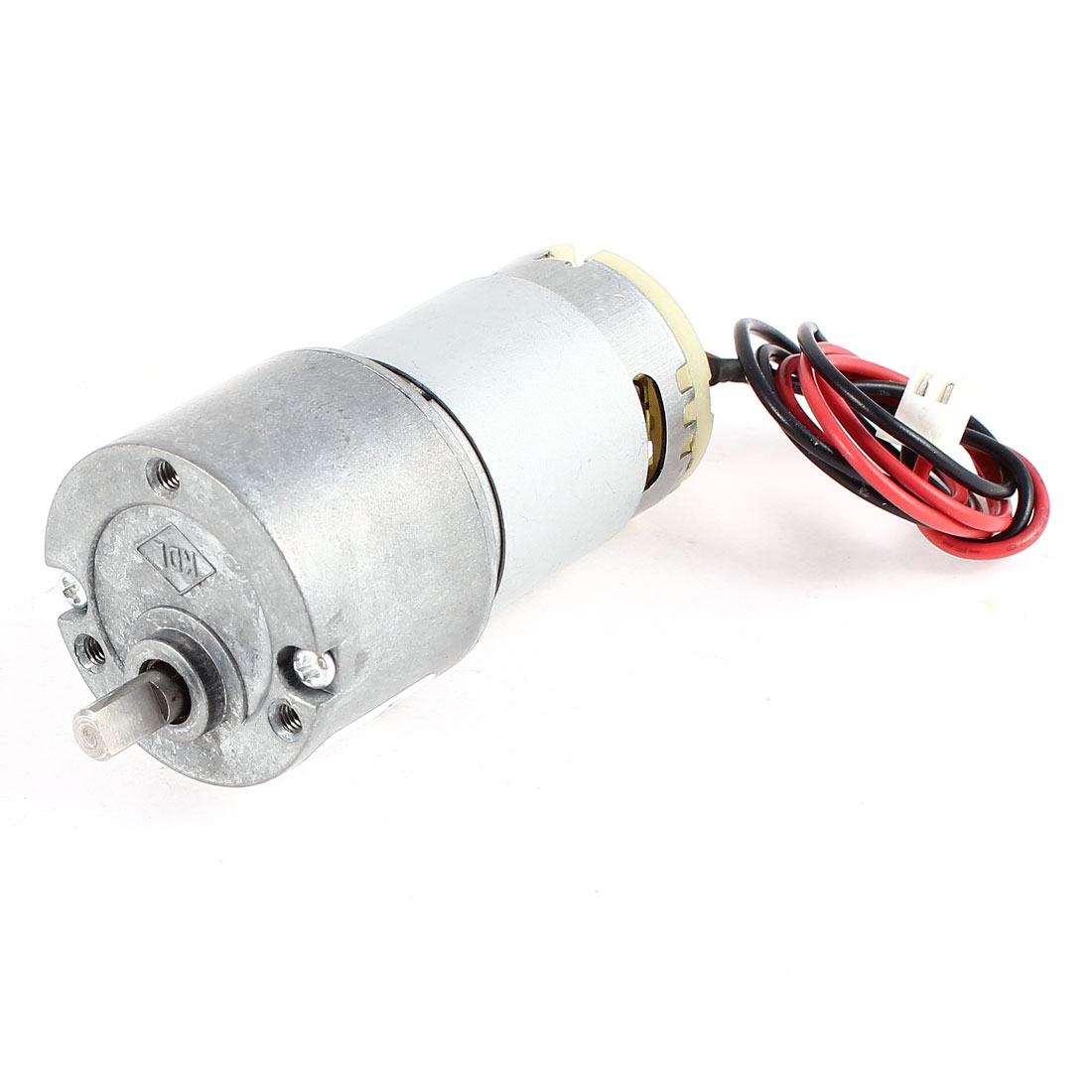 DC 12V 40RPM 8Kg.cm Torque 4.9mm Dia Shaft Electric Geabox Speed Reduction Motor
