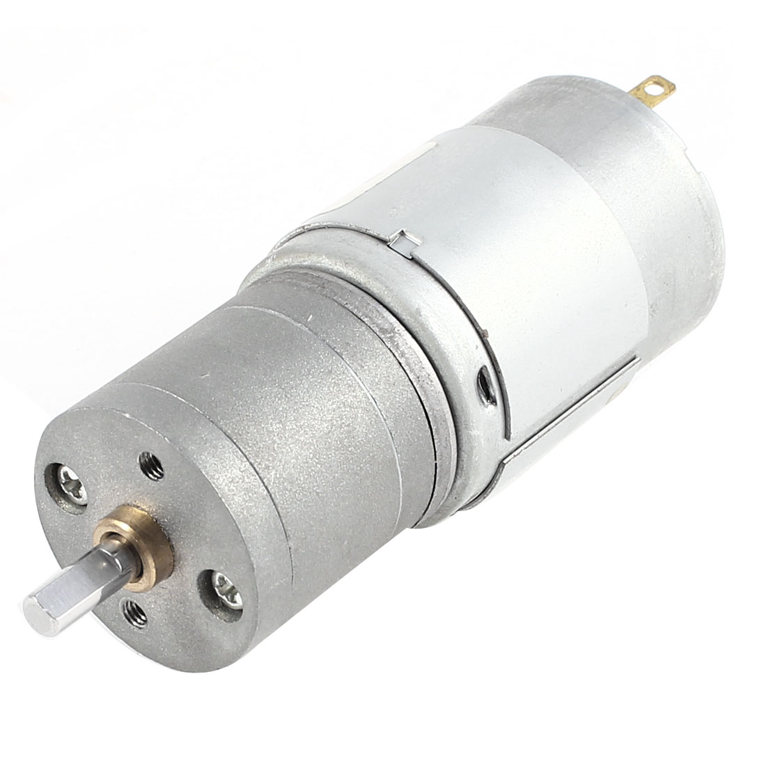 JGA25-385 DC 24V 76RPM 4mm Diameter Shaft Electric Geared Box Speed Reduce Motor
