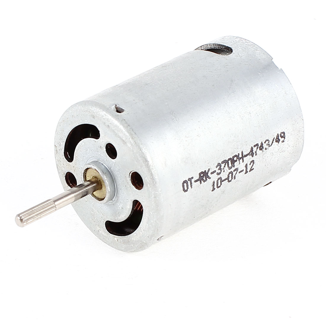 DC 6V 16000RPM High Speed Cylinder Shape Mini Carbon Brush Motor for RC Airplane
