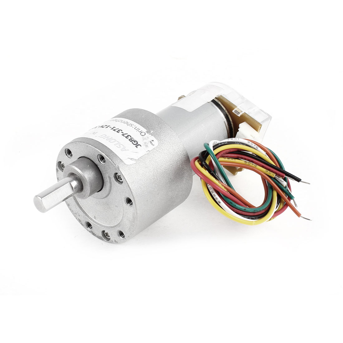 DC 12V 32RPM 5.9mm Shaft Permanent Magnetic Electric Gear Box Speed Reduce Motor