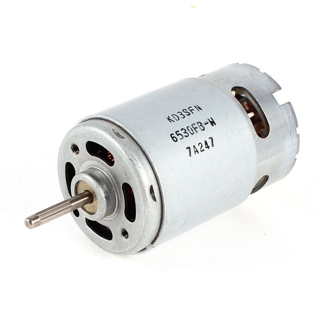 DC 3V-12V 3750RPM-15000RPM High Speed Cylinder Shaped Miniature Electric Motor