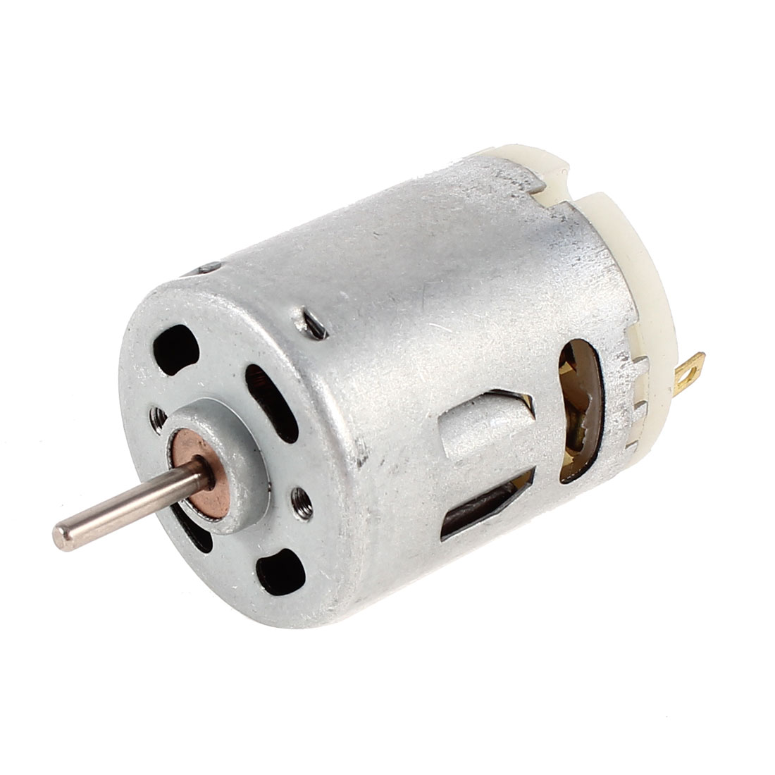 Electric Bicycle Boat Car DC 12V 50mA 5000RPM High Speed Micro Motor Silver Tone