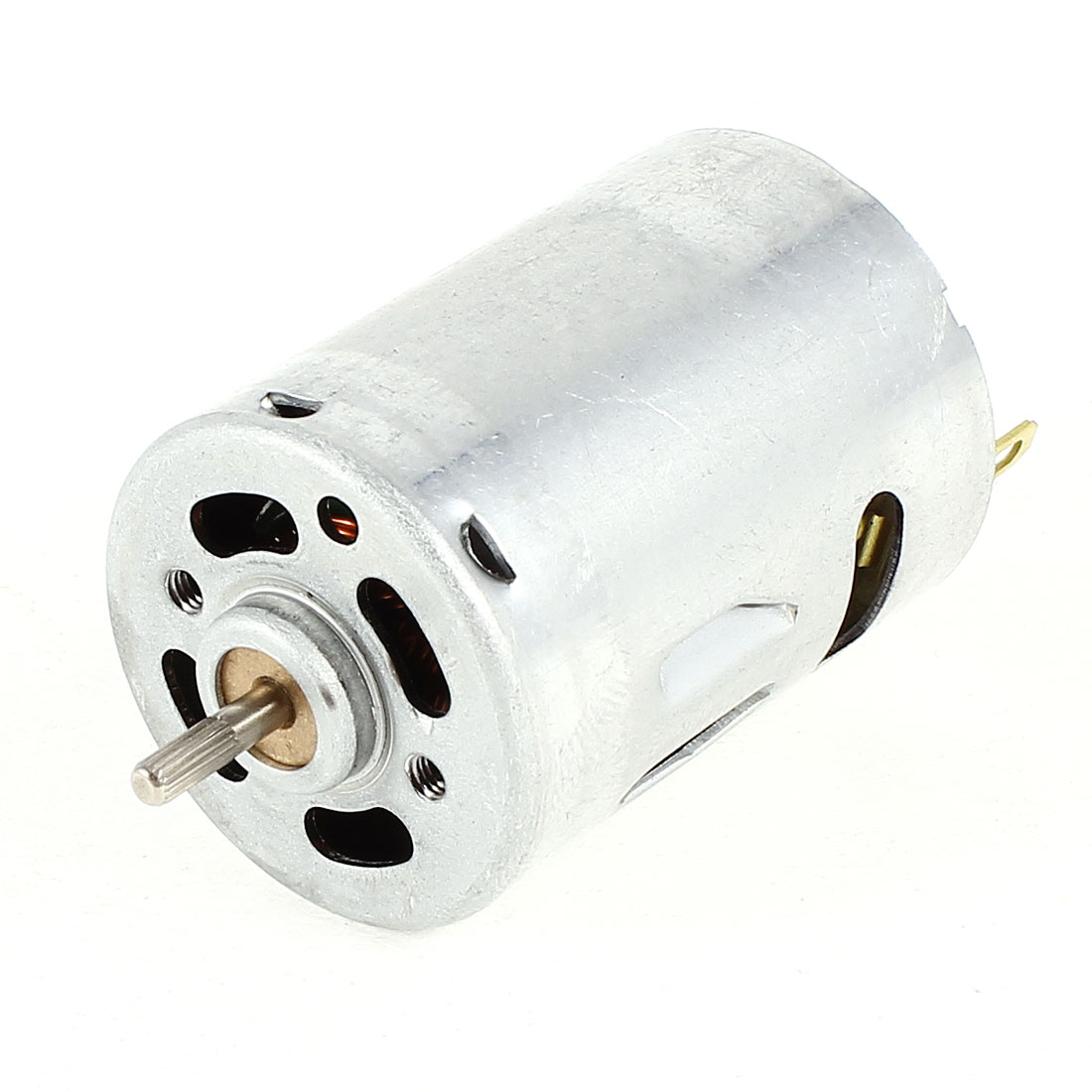 DC 6V 15000RPM Speed 2.3mm Knurled Shaft Cylinder Magnetic Micro Electric Motor