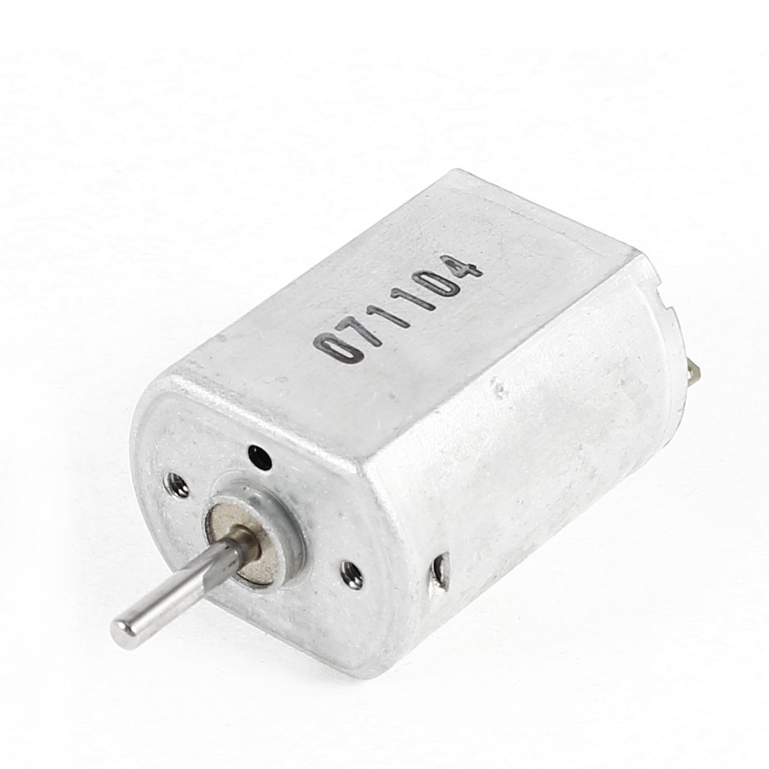 DC 6V 7000RPM High Speed Metal Cover 2mm Diameter Axle Micro Electric Motor