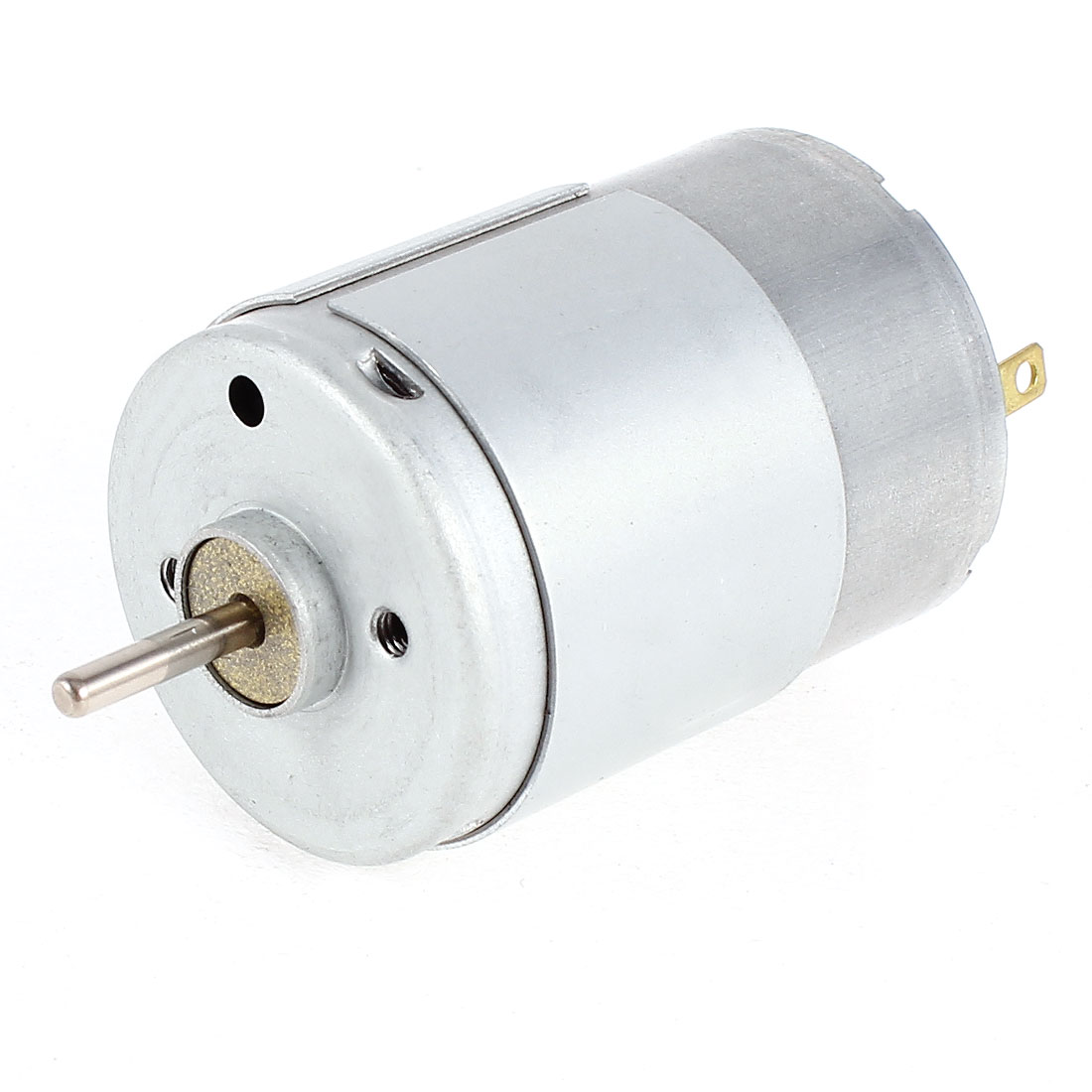 RS385 DC 12V-24V 3800-7600RPM High Speed Cylinder Shaped Micro Electric Motor