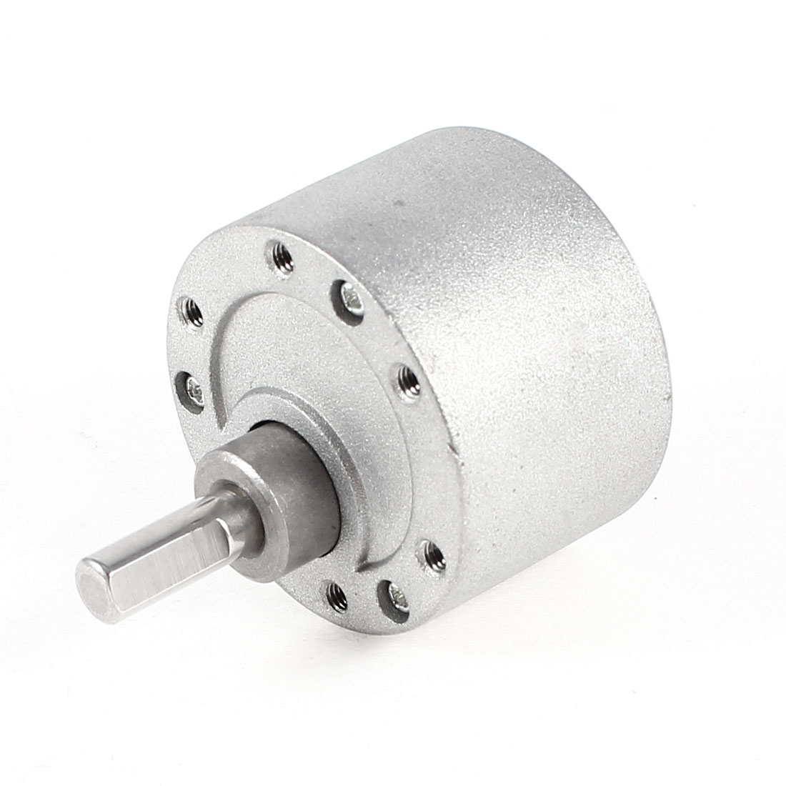 6mm Shaft Speed Reducer Reduction Gearbox Silver Tone for 500 520 555 3530 Motor