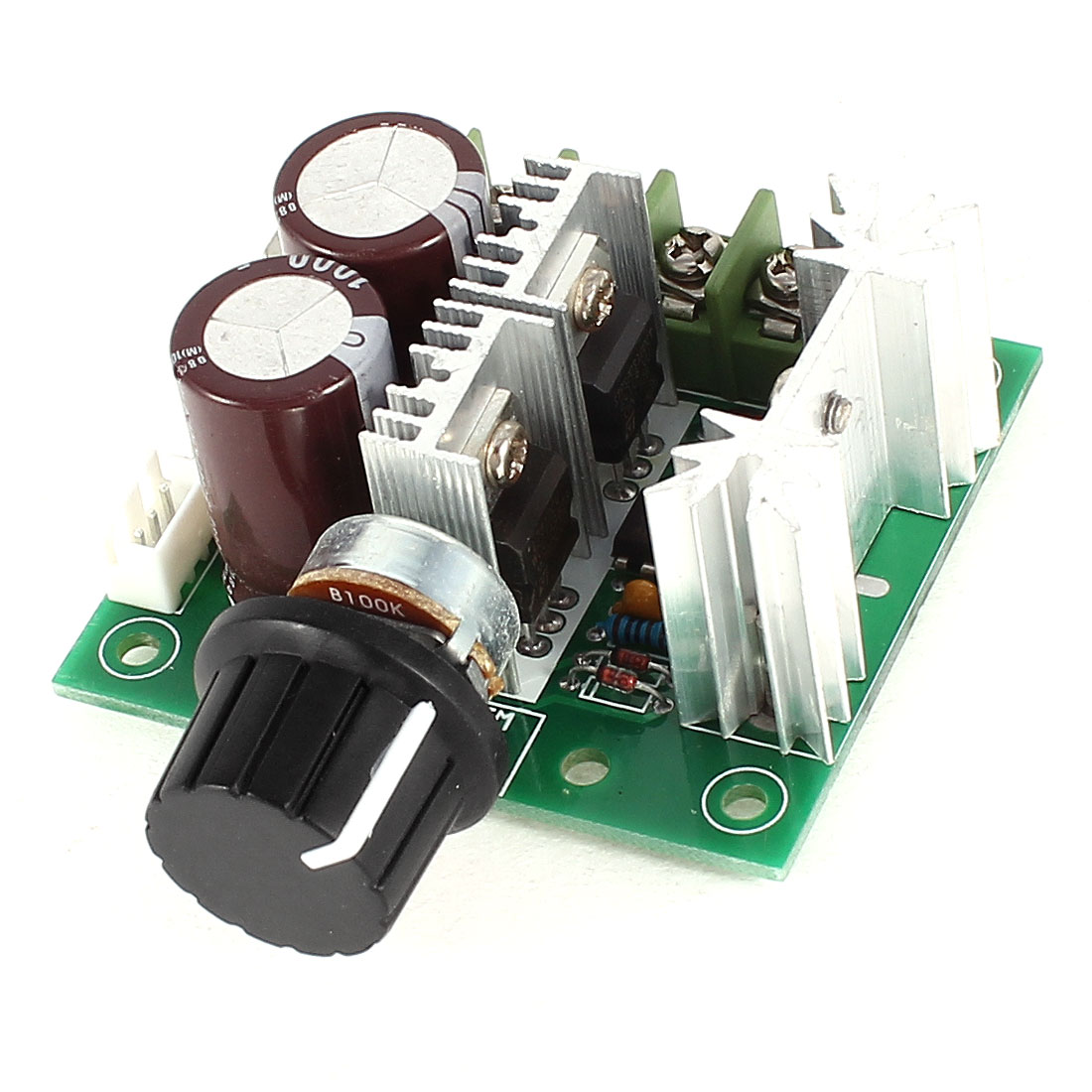 K20 DC 12-40V Reduction Motor Adjustable Speed PWM Controller PCB Control Board