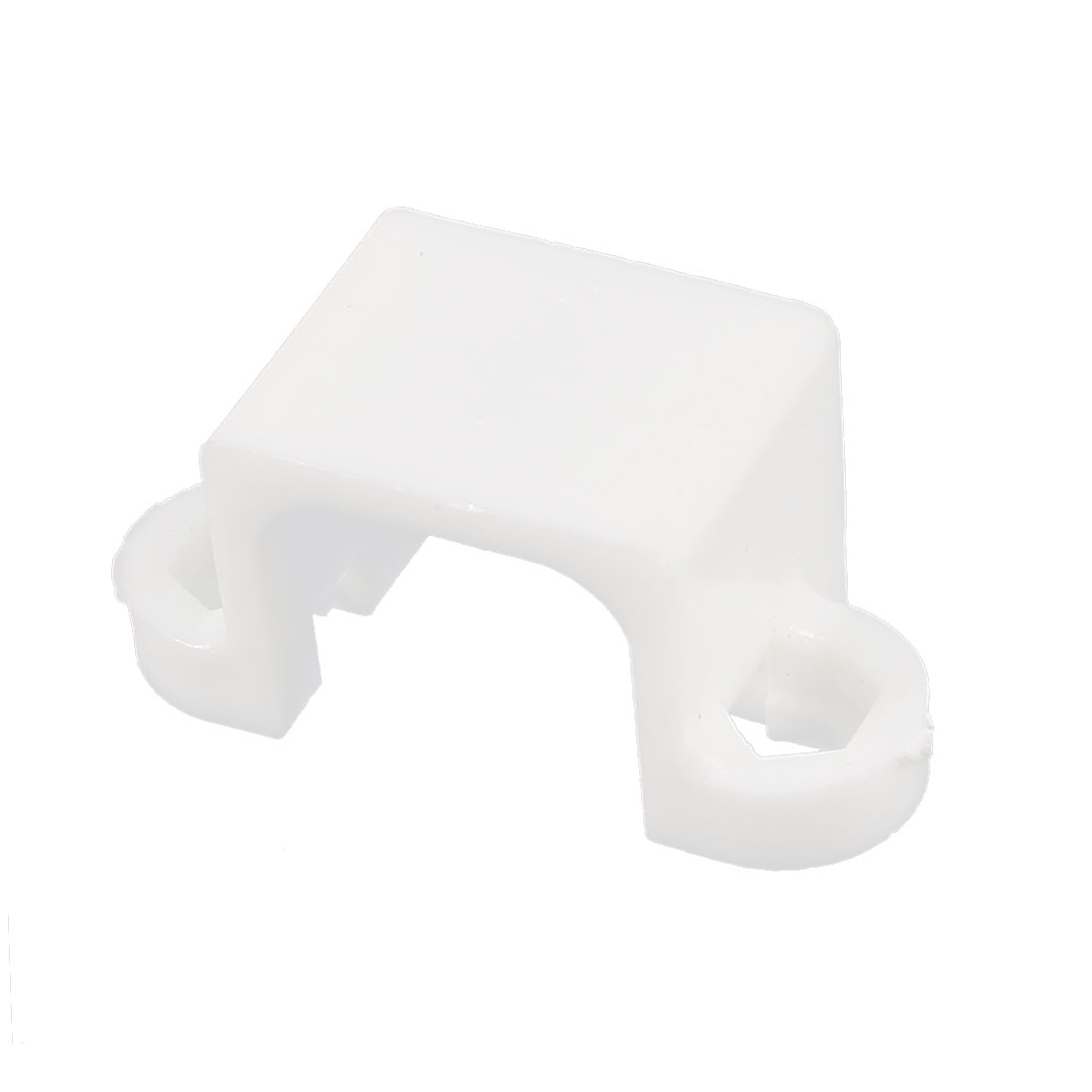 RC Toy N20 White Plastic Micro Reduction Gear Box Motor Holder Fixed Bracket