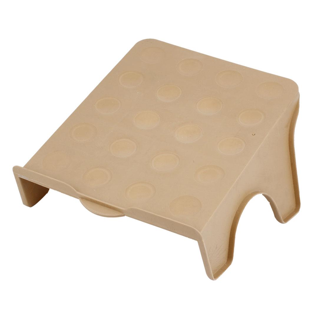 Khaki Plastic Home Bedroom Nonslip DIY Shoebox Shoe Cabinet Storage Rack