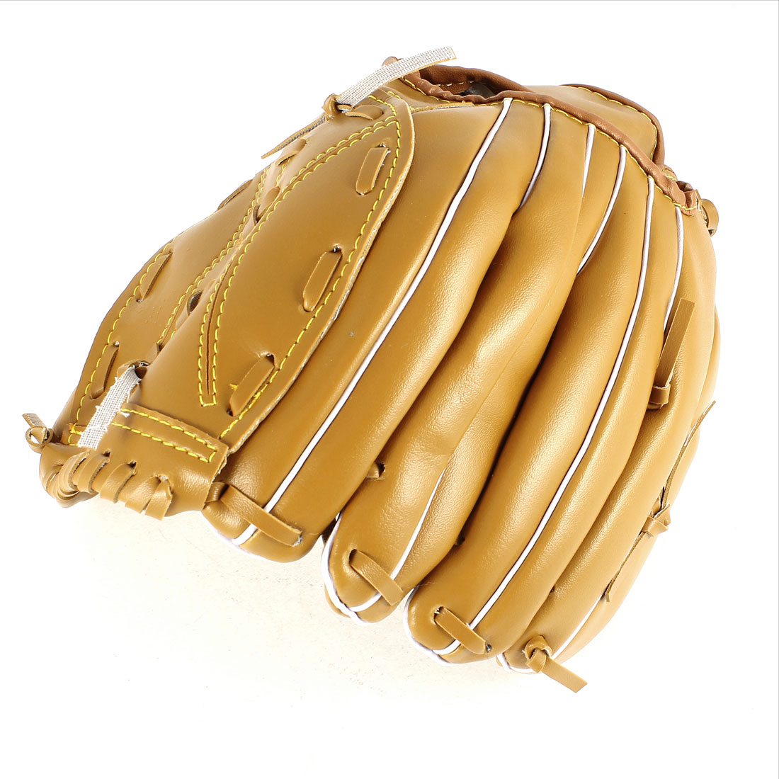 Adult Fielder Players Brown Faux Leather Left Throw Baseball Softball Glove
