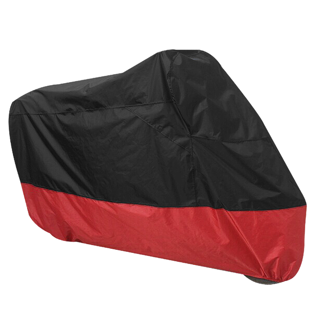 Black Red Motorcycle Waterproof Protective Scooter Rain Snow Resistant Cover