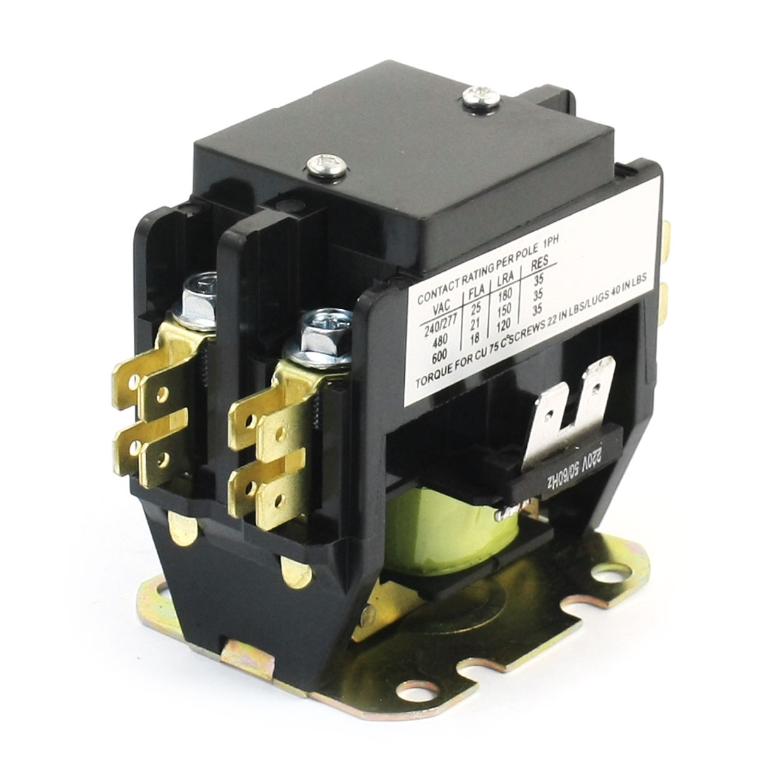 HCK3-25/2PC AC 220V Coil Magnetic Definite Contactor for Air Conditioner