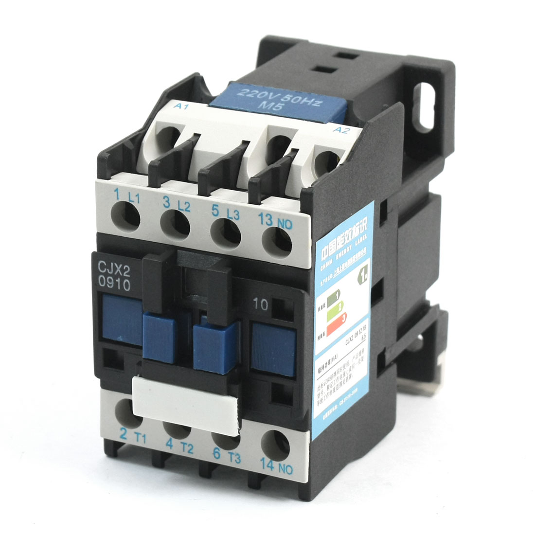 50HZ 220V Coil 20A Motor Control NO Contact AC Contactor CJX2-0910