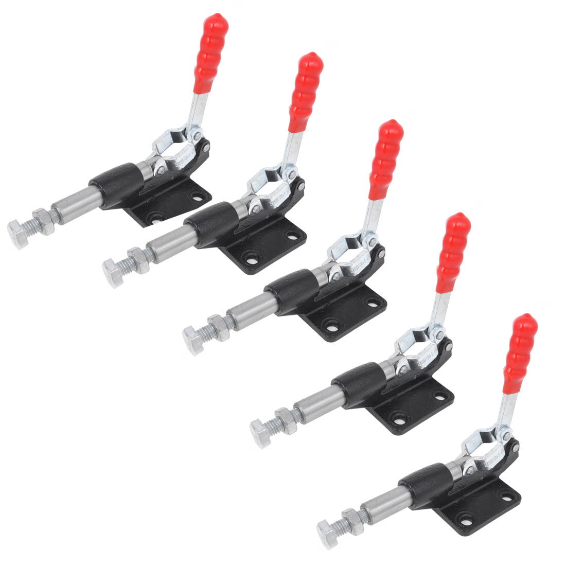5PCS Quickly Holding U Shaped Bar Push Pull Toggle Clamp 227Kg 304C
