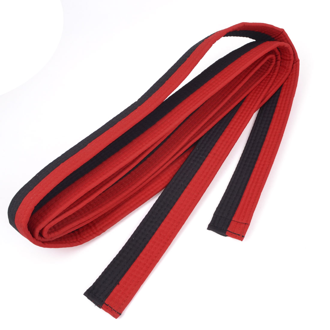 Red Black Level 1 Martial Arts Karate Tae Kwon Do Judo Belts 300cm Length
