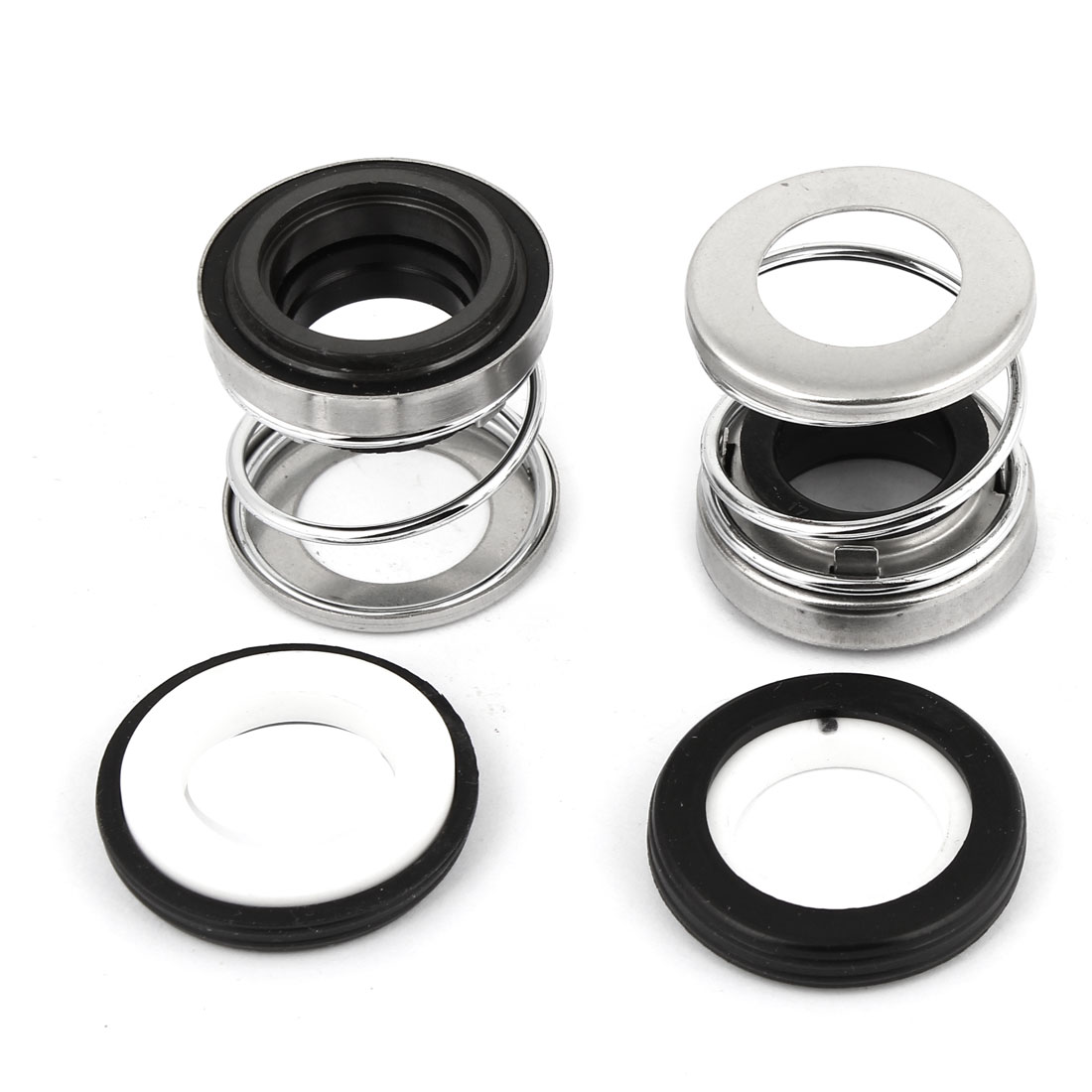 2 Pcs 17mm Innner Dia Ceramic Rotary Ring Water Pump Mechanical Sealing