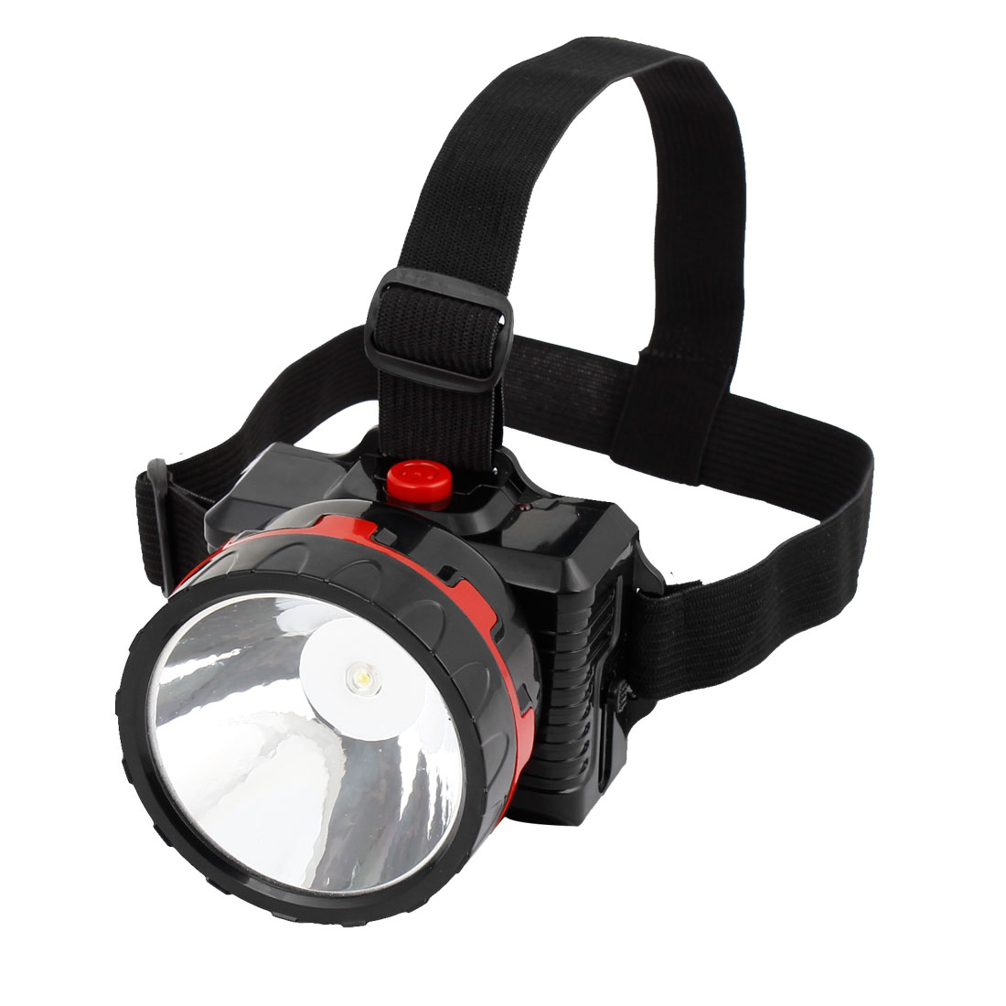 AC 110V-240V US Plug 2 Modes 1 LED Rechargeable Headlamp Headlight