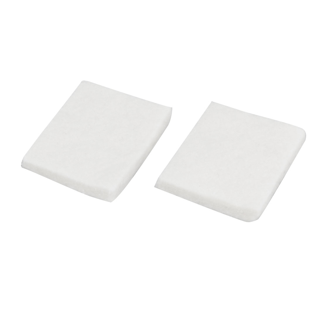 2 Pcs Aquarium Tank Biochemical Water Filter Sponge White 45 x 38 x 7mm