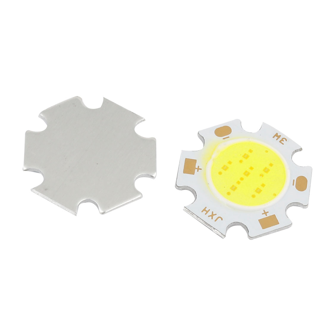 2 Pcs DC 10-12V 3W COB White LED Instrument Panel Light Internal