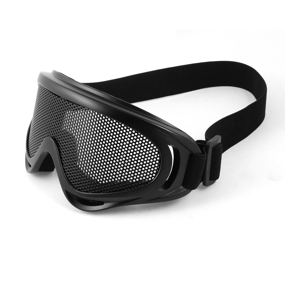 Airsoft Paintball Game Eye Protection Metal Meshy Safety Goggles Black