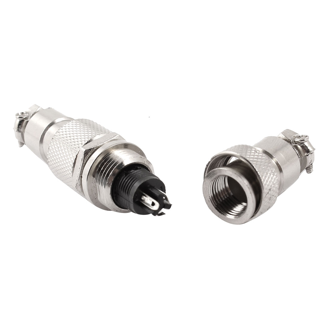 AC 125V 5A 3 Terminal Male Female Cable Screw Butt Join Type Connecting Aviation GX12-3