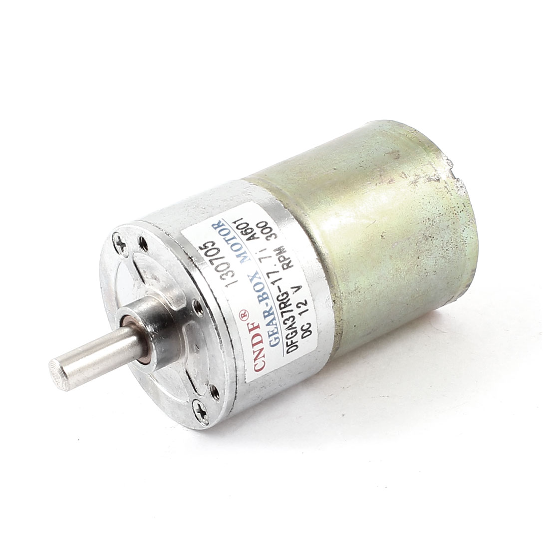 DC 12V 300RPM 6mm Shaft Magnetic Electric Gear Box Motor Spare Parts